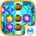 Jewel Mania: Halloween App iTunes App Icon Logo By TeamLava - FreeApps.ws