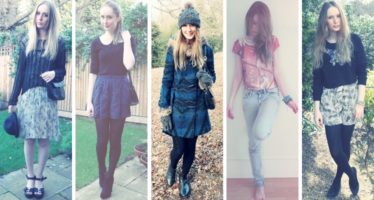 Sarah Loves Blog 2012 spring outfits