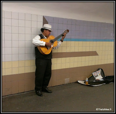 el cantador le chanteur du métro Thomas D'Aguino Paris Ratp rythme cubain salsa bossa nova