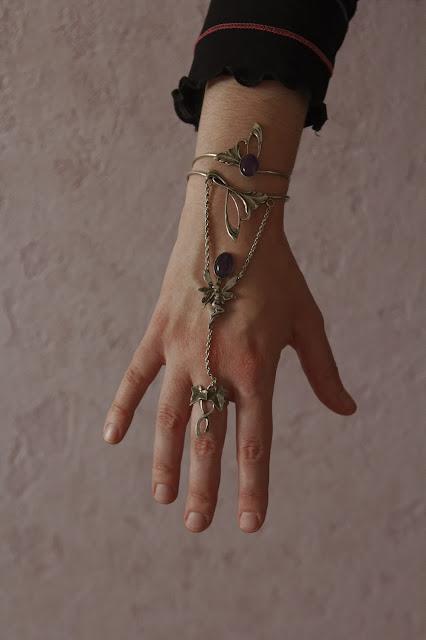 bracelet-bague Envol elfique
