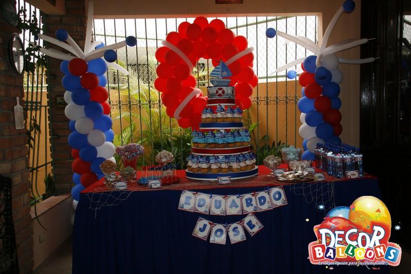 Parties'n More!!: Baby Shower Nautico, Barco! Todos A bordo!