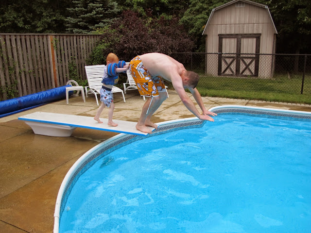 Push Daddy off the Diving Board
