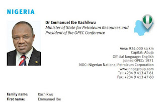 Ibe Kachikwu named new OPEC President