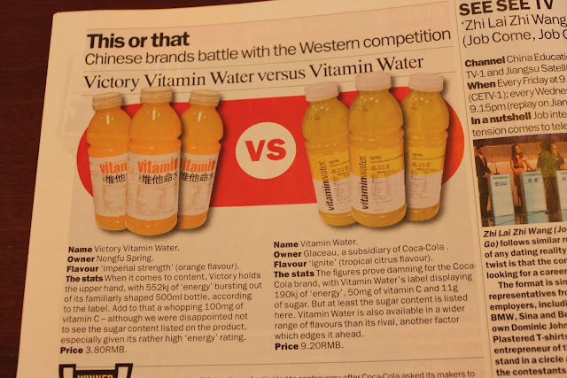 clone victory vitamin water vs. Vitamin Water
