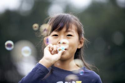 bolha de sabão infantil