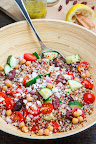Mediterranean Quinoa Salad