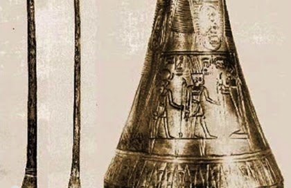 Tutankhamen's trumpets