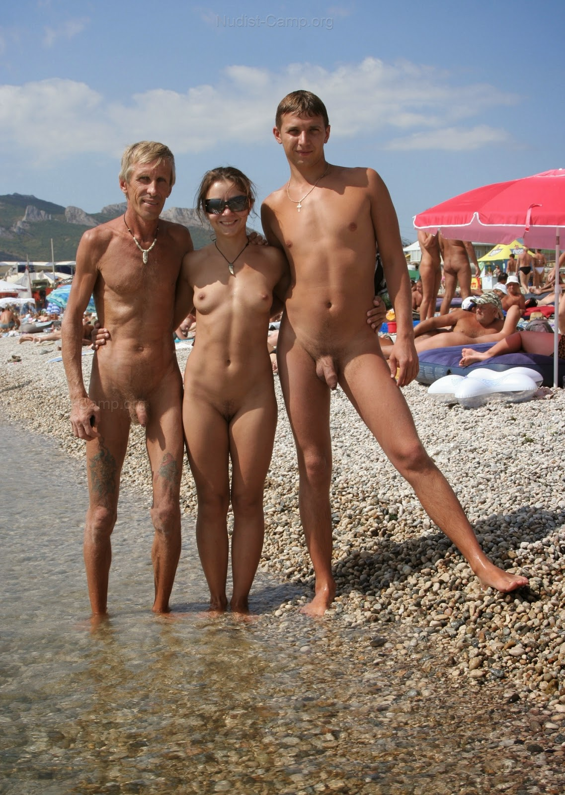 Excellent message Nudist family beach