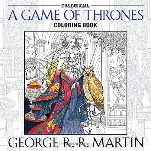 They Now Have Harry Potter Coloring Books Game Of Thrones And Even Star Wars Series Like Outlander Dr Who Also