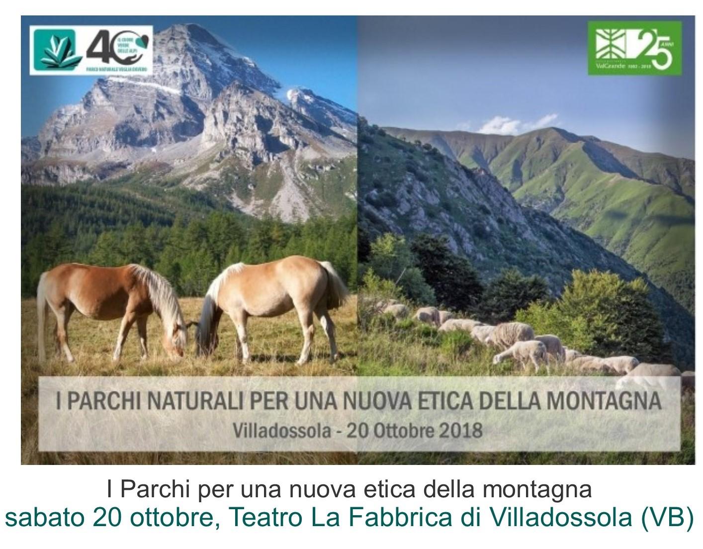I Parchi per una nuova etica della montagna
