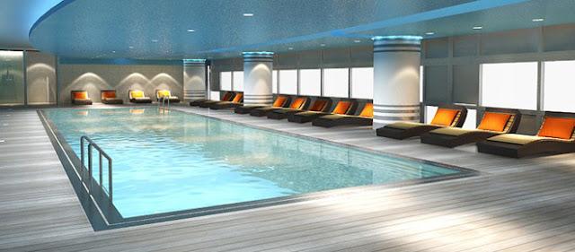 Bể bơi dự án chung cư Eco Green City