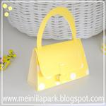 DIY paper purse: