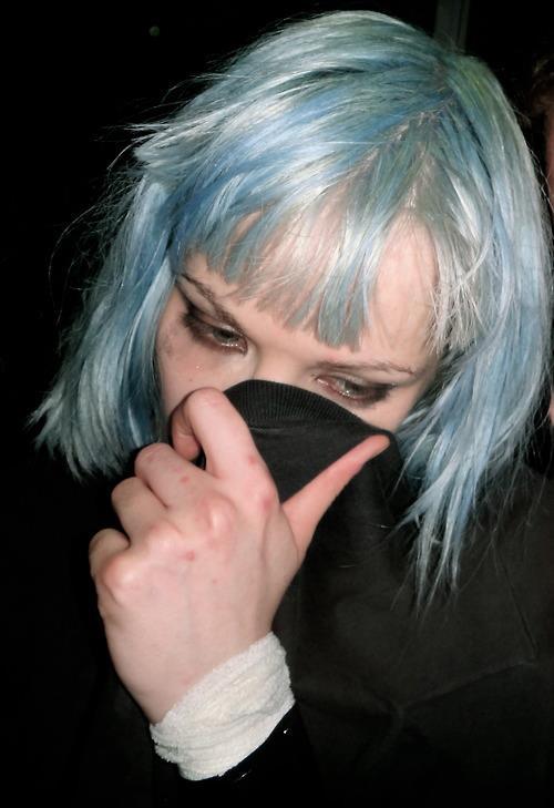 Alice Glass Blue Hair