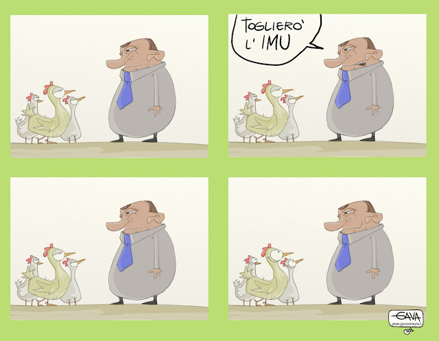 Gava Satira Vignette Imu Polli
