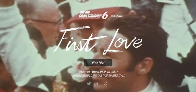 Gran Turismo 6 - First Love Unveil to Mario Andretti