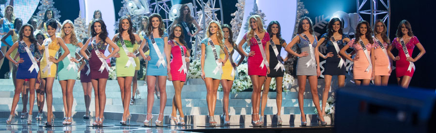 Miss Universe 2012 Top 10 Semi-Finalists