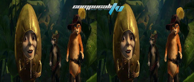 El Gato Con Botas 3D SBS 1080p