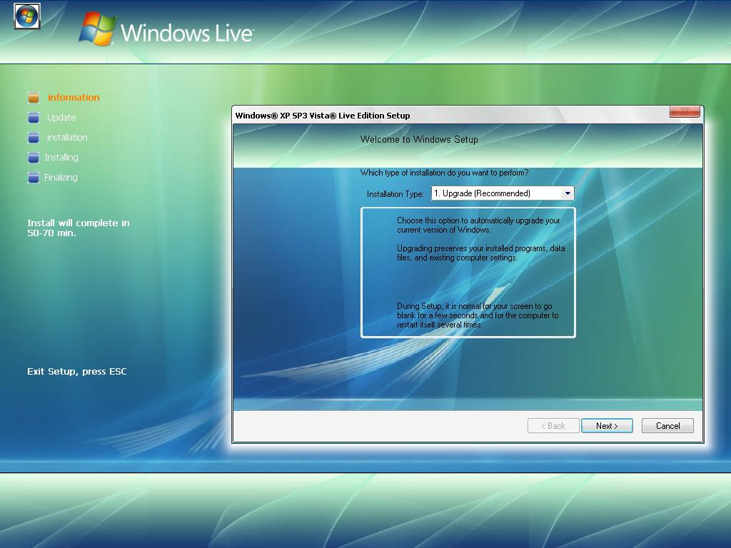 windows vista and completion time Windows vista performance guide by a video using windows movie maker and benchmarking the completion time some time testing the network part of windows.