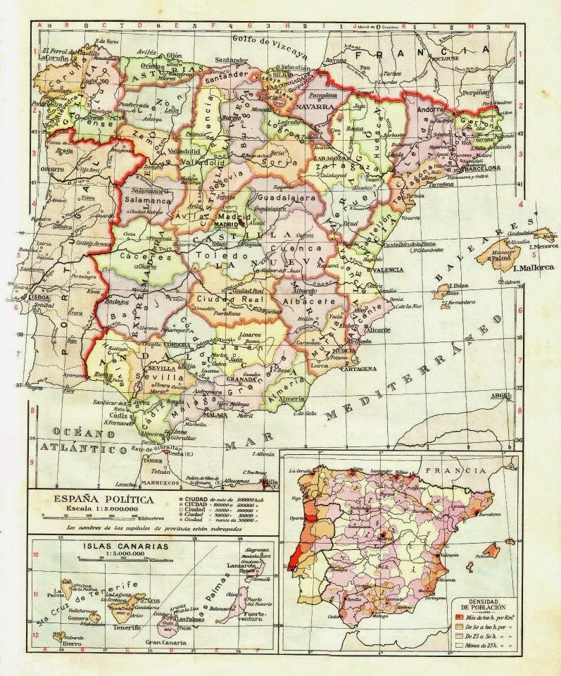 Mapa 1959 Enrique Soto de Soto