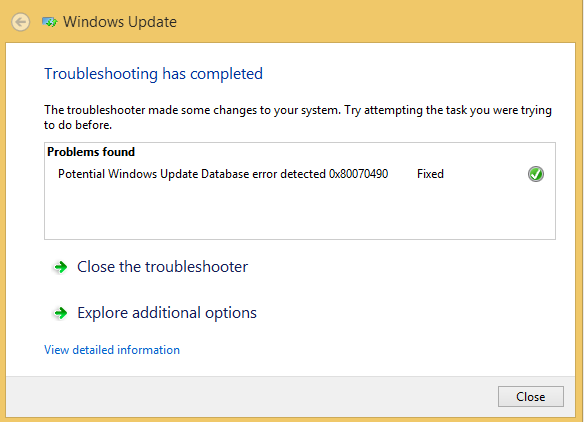 windows update troubleshooter windows 7