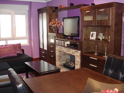 salon violeta www.lolatorgadecoracion.es