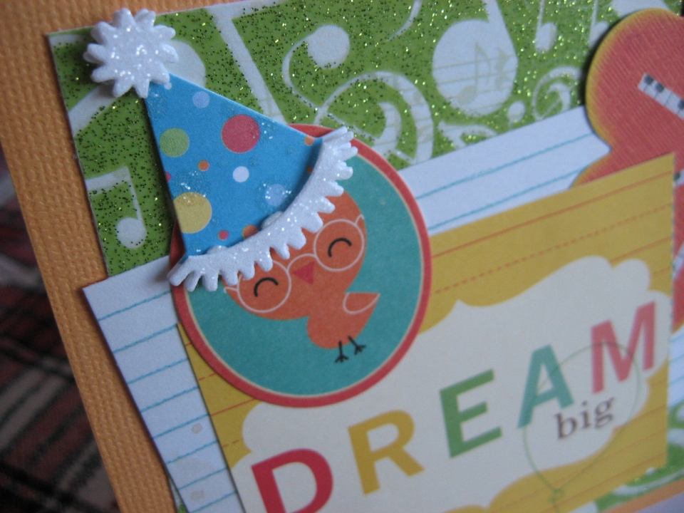 Sugar And Shimmer Diy Birthday Card Dream Big