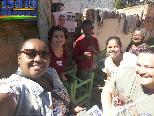 Campanha Verador Paulo Marques 15915 em todos os bairros