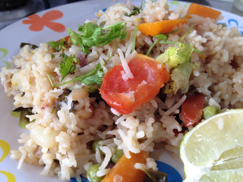 Vegetable pulav the healthy way no oil no spices no masala i didnt use any spices or garlic or ginger or turmeric in this vegetable pulavthis is the most healthier version of vegetable pulav you can ever get forumfinder Choice Image