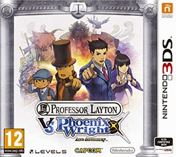 Professor Layton vs Phoenix Wright Cover