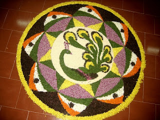 Latest Diwali 2012 Rangoli Patterns