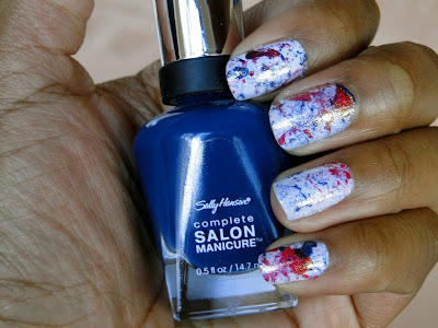 4th+of+july+splatter+manicure Happy Independence Day!