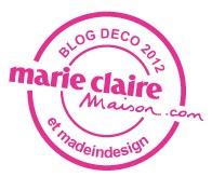 Élu blog du mois de janvier 2013