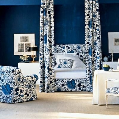 Blue And White Bedroom blue white bedroom