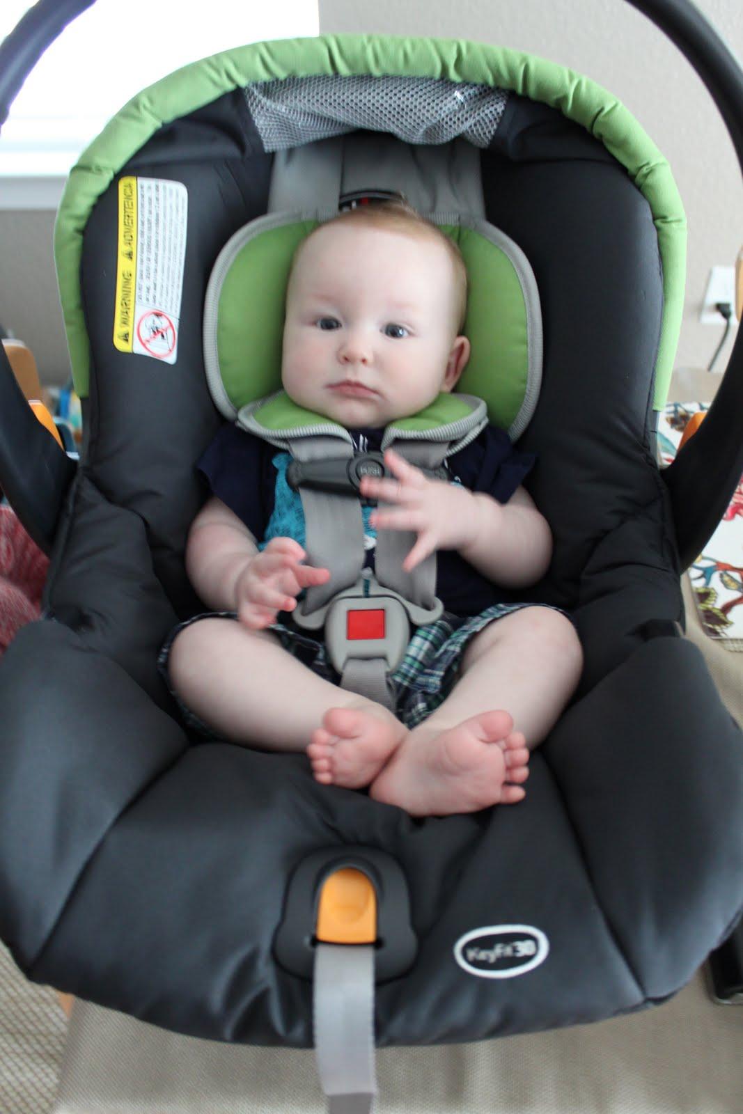 Big Adventure Calling: Car seat break down... literally!