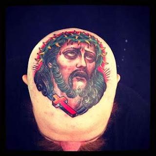 Tattoo religiosa Cristo