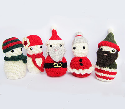 Amigurumi Father Christmas : Roaming Pixies: Christmas Amigurumi Crochet Pattern ...