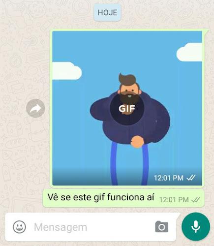 Como enviar Gif pelo Whatsapp (Recurso foi liberado)