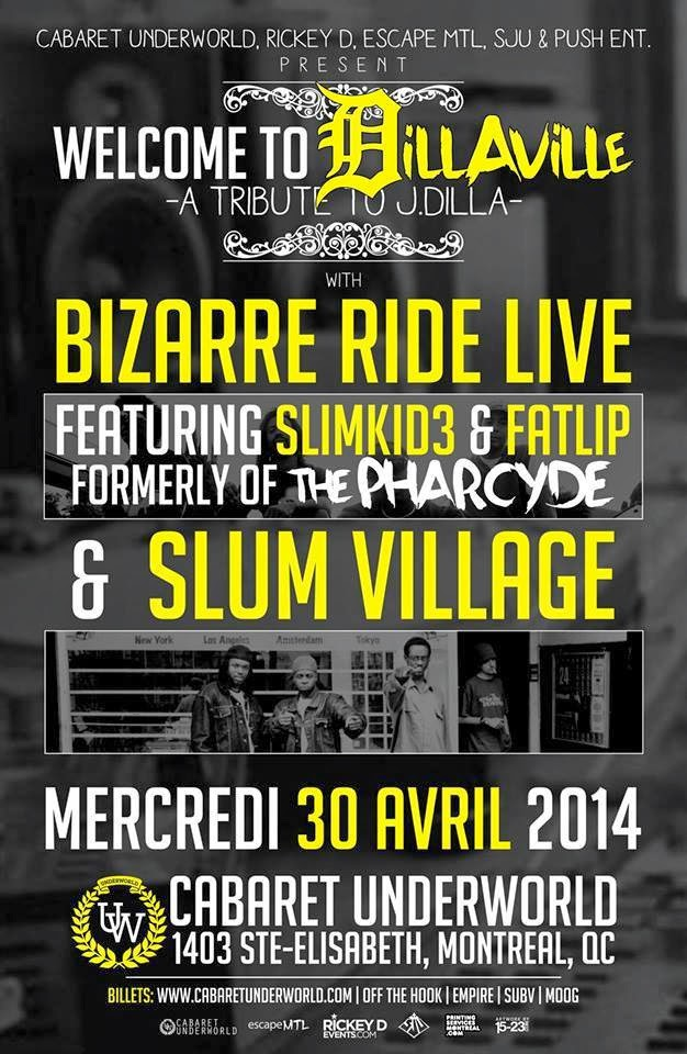 SLUM VILLAGE APRIL 30th