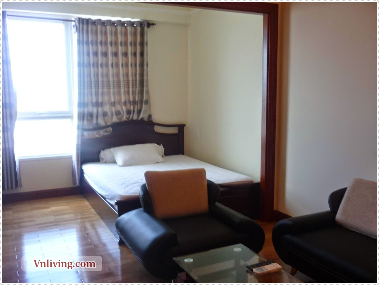 Studio Apartment For Rent In The Manor Binh Thanh Dist Nice City View