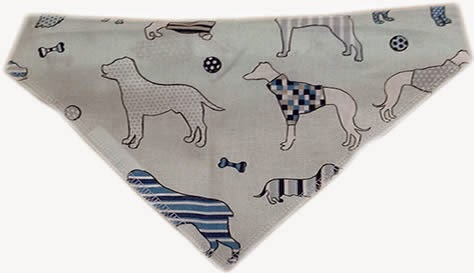 Dog Bandanas and dog scarfs