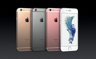 iPhone Renk seçenekleri