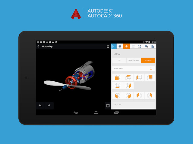 Download AutoCAD 360 v3.1.5 Cracked Apk For Android