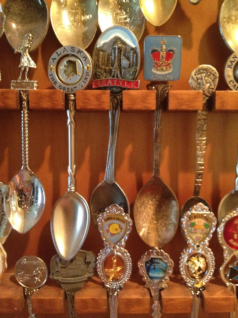 More detailed picture of my spoon collection