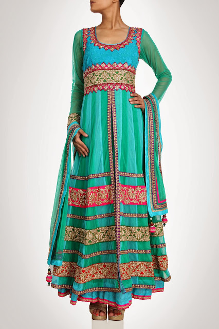 Kiran&ampShruti Akshindianfrockstyledresses 14  - Indian Frock Style Dresses Collection