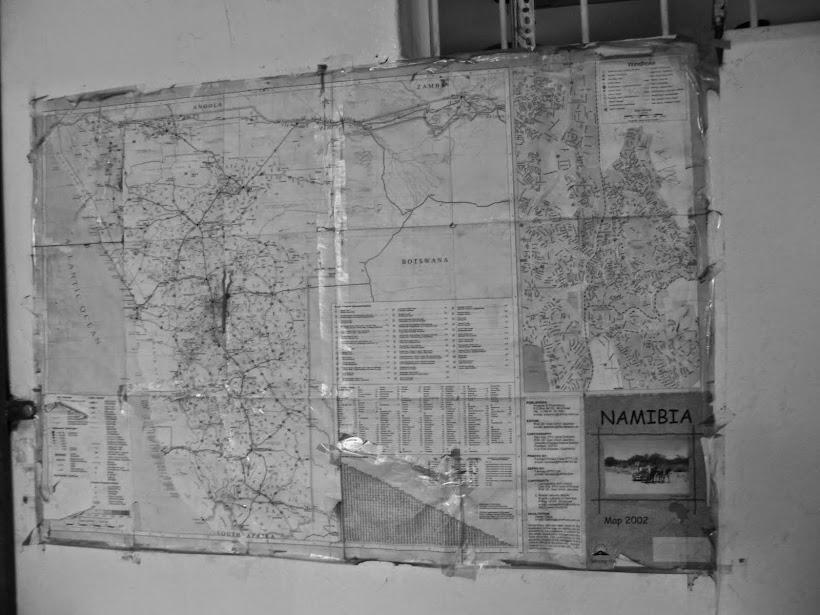 CA _map_  - NAMIBIA