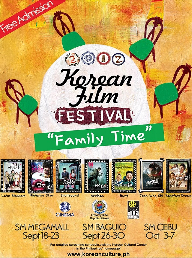 2012 Korean film festival Philippines