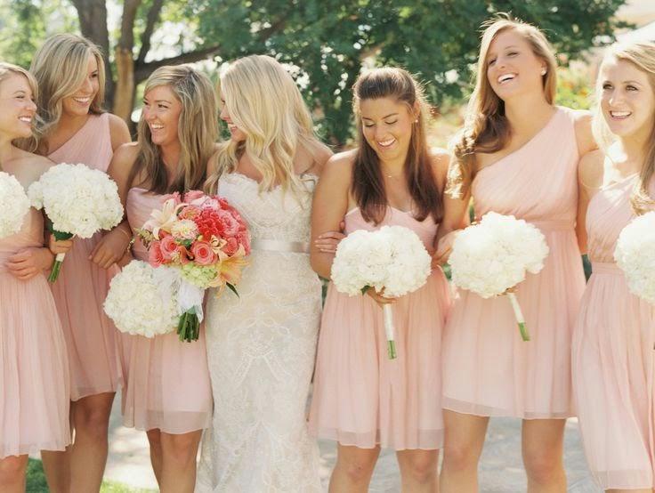 Extremamente 9 Dicas para as noivas que querem madrinhas com vestidos iguais IT52