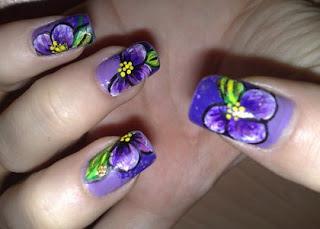 nokti slike cvetni motivi 11