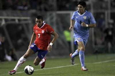 Chile vs Uruguay en vivo