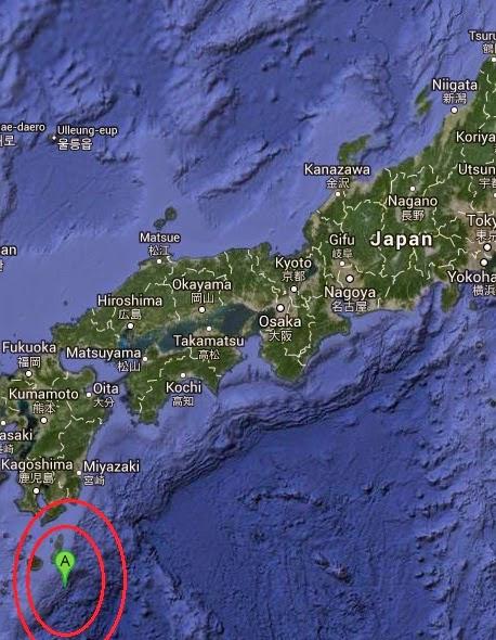 Magnitude 4.8 Earthquake of Nishinoomote, Japan 2014-09-14